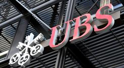 UBS has around 5,000 staff in the UK (John Stillwell/PA)