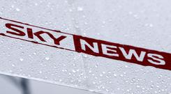 Sky News logo, as competition watchdog finds 21st Century Fox's takeover of Sky is not in the public interest (PA)