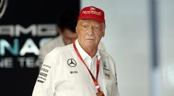 Former Formula One champion Niki Lauder has secured pole position to buy back the Austrian airline he founded after beating rival bidder and British Airways owner International Consolidated Airlines Group (IAG).