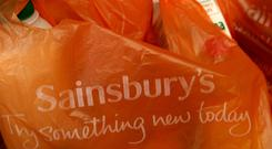 Sainsbury's is making changes to its store staffing (John Stillwell/PA)