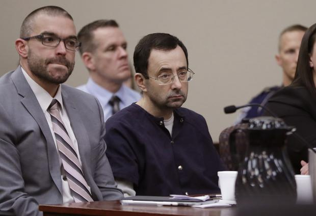 Larry Nassar during his sentencing hearing (Carlos Osorio/AP)