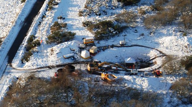 The Forties pipeline was shut for repairs in December (Ineos/PA)
