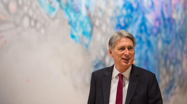 Chancellor of the Exchequer Philip Hammond said the pound was in a