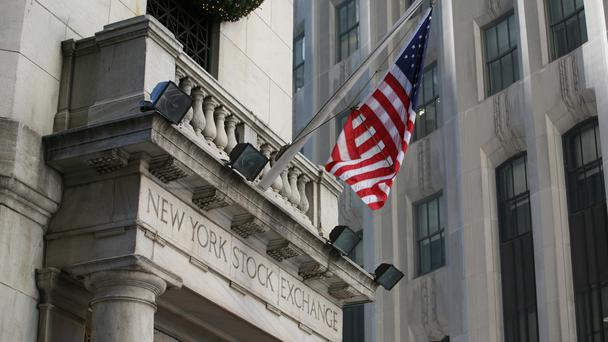 The Dow average climbed 140.67 points, or 0.5%, to 26392.79 (Martin Keene/PA)