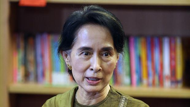 Burma leader Aung San Suu Kyi (Paul Faith/PA)