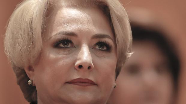Viorica Dancila easily reached her vote target to take the premiership (AP)