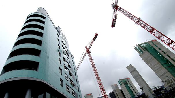 Hotels dominate as Belfast city building boom hits 10-year high