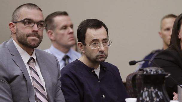 Larry Nassar admitted molesting some of the nation's top gymnasts for years (Carlo Osorio/AP)