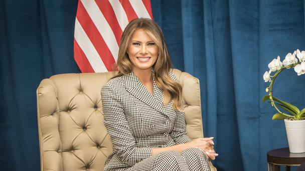 First lady Melania Trump will face extra scrutiny this year (Danny Lawson/PA)