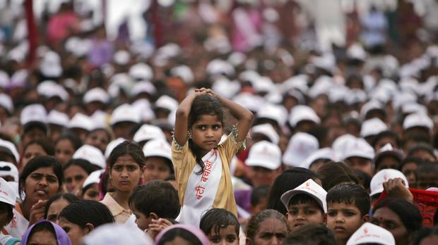 """A preference for boys in Indian society has left more than 63 million women statistically """"missing"""" (AP)"""