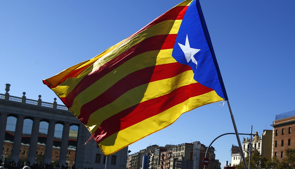 Carles Puigdemont, the self-exiled Catalan leader, sent text messages to a colleague in which he appeared to acknowledge his independence push was