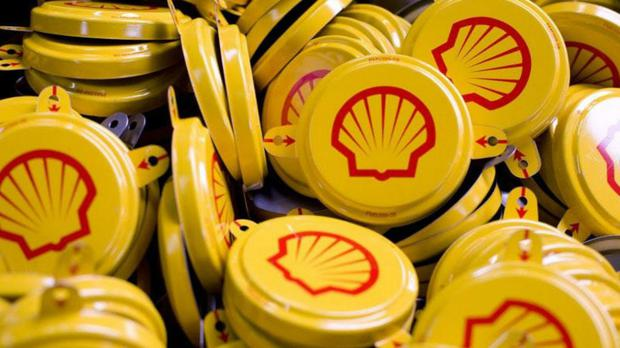 Oil giant Royal Dutch Shell has reported surging annual profits on the back of the recent rebound in crude prices