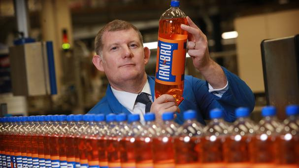 Irn-Bru maker AG Barr has insisted the customer reaction to its new low sugar recipe for the popular Scottish pop has been