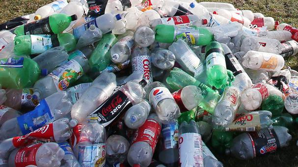The EU is hoping to wean people off plastic bottles