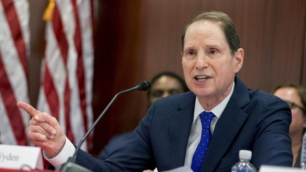 Ron Wyden has written to the National Rifle Association and the Treasury Department (AP)