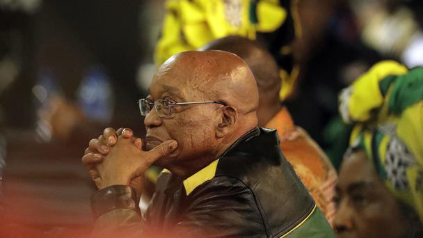 Mr Zuma has survived such votes before (AP)