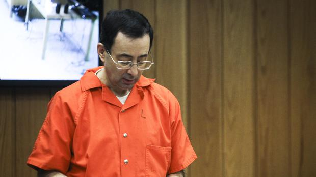 Larry Nassar has received another minimum 40-year sentence (AP)