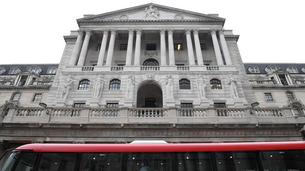 The Bank of England is expected to keep interest rates on hold this week (Stefan Rousseau/PA)