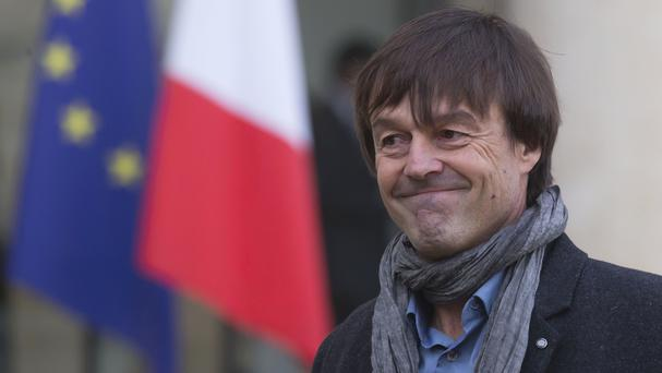 Nicolas Hulot has denied the reports (Michel Euler/AP)