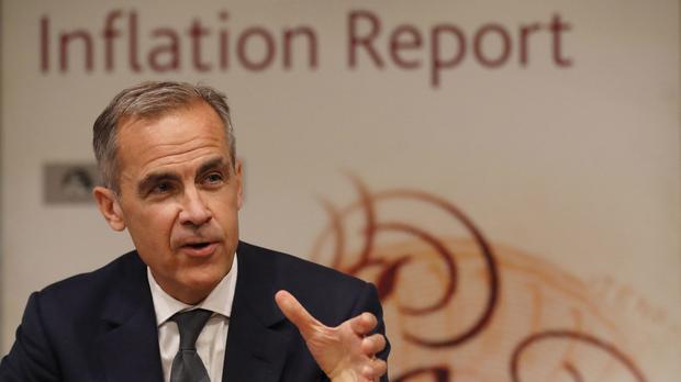 Bank of England governor Mark Carney said borrowers should be braced for further and faster interest rate hikes (Frank Augstein/PA)