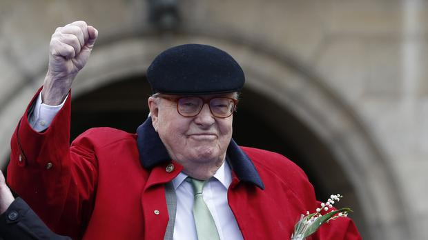 An appeal court upheld the National Front's decision to expel former leader Jean-Marie Le Pen (AP)