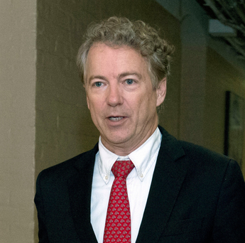 Republican Senator Paul Rand was unhappy and delayed passage of the deal. Photo: AP