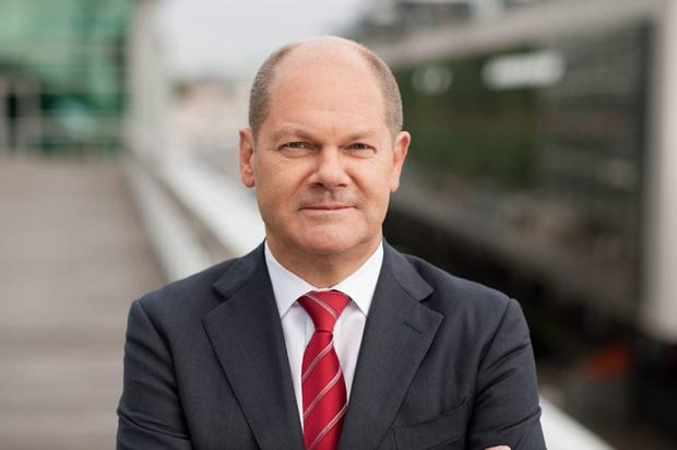 New man: Olaf Scholz