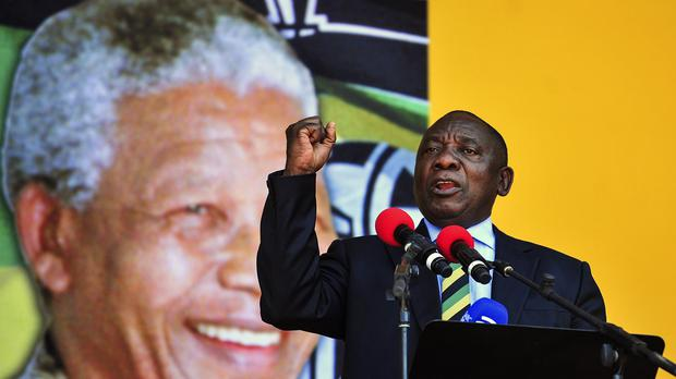 South Africa Troubled President