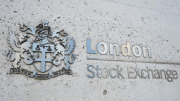 The FTSE 100 Index closed up 84.63 points, rebounding from Friday's session (Kirsty O'Connor/PA)