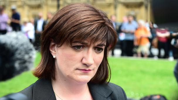 Nicky Morgan is chair of the Treasury Select Committee (PA)