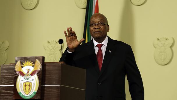 Jacob Zuma has resigned as South Africa's president (AP Photo/Themba Hadebe)