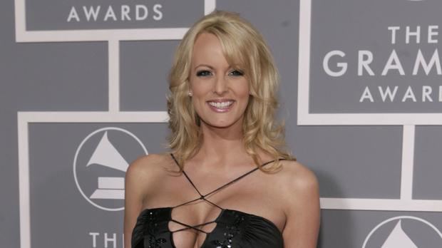 Stormy Daniels is alleged to have had a sexual relationship with Mr Trump in 2006 (AP Photo/Matt Sayles)