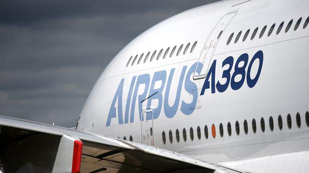 Annual net profit at Airbus soared to 2.8 billion euro (Andrew Matthews/PA)