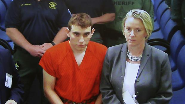 Nikolas Cruz at Broward County Court (Susan Stocker/South Florida Sun-Sentinel via AP)