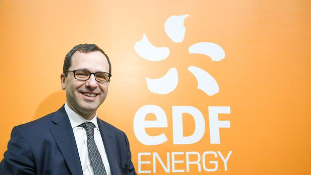 Simone Rossi is chief executive of energy giant EDF Energy (PA)