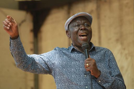 STRUGGLE: Morgan Tsvangirai suffered imprisonment, beatings and attempted assassinations