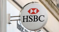HSBC released its full year earnings on Tuesday (Joe Giddens/PA)