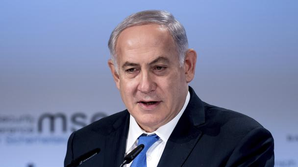 Israel's Prime Minister Benjamin Netanyahu claims there is a witch hunt against him and his family (AP)