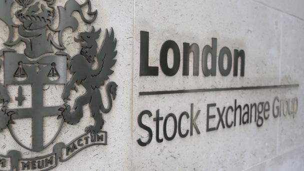 London Stock Exchange logo (PA)