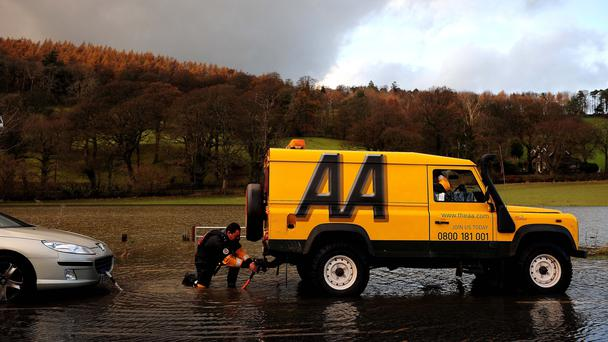 The AA detailed a new strategic plan on Wednesday (Owen Humphreys/PA)