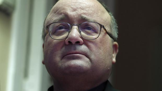 Archbishop Charles Scicluna has been taken to hospital in Chile, where he is investigating an alleged abuse cover-up (AP)