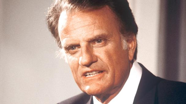 The Rev Billy Graham preached a number of times in the UK (PA)