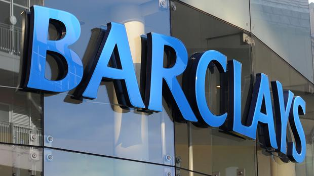 Barclays has reported annual profits as the sector's reporting season continues.