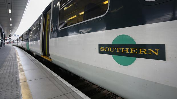 A Southern Railway train, as the group behind strike-hit Southern Railway updates on performance (PA)