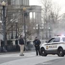 The White House is on lockdown (Niall Carson/PA)