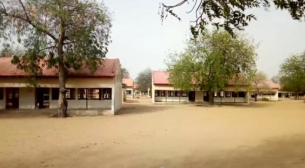 The college in Dapchi, Yobe State, Nigeria (AP)