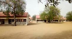 The exterior of Government Girls Science and Tech College in Dapchi, Yobe State (AP)