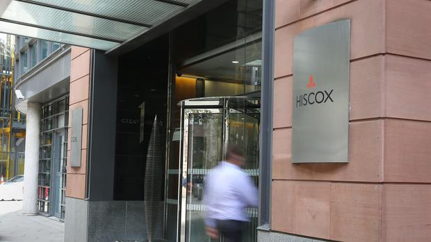 Hiscox offices, as the insurer grapples with a