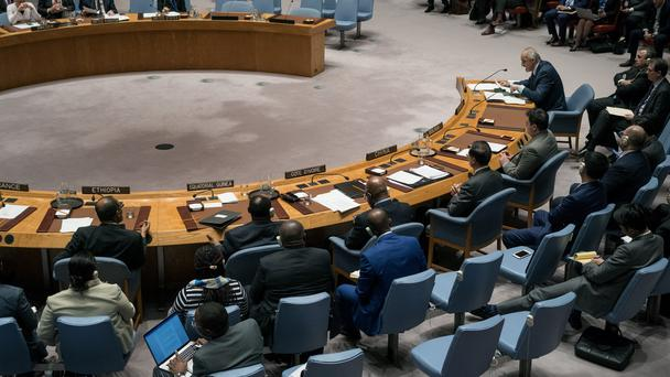The UN voted for a ceasefire on Saturday (AP)