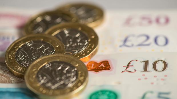 A picture of money, as Time Inc's UK business is sold (Dominic Lipinski/PA)